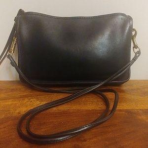 Vintage Coach Shoulder Bag Black